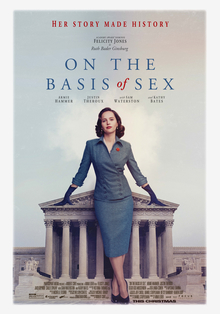 <i>On the Basis of Sex</i> 2018 film by Mimi Leder
