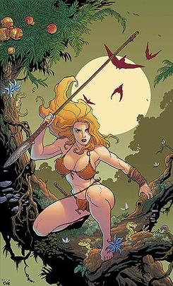 Shanna the She-Devil, vol 2, no 1 (2005) (cover art).jpg