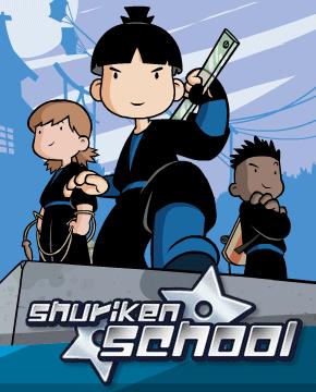 Shuriken school wikipedia - Dessin anime ninja ...