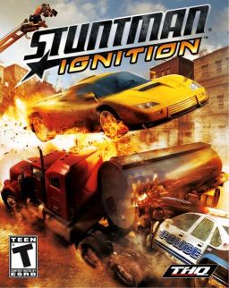 Stuntman Ignition box art