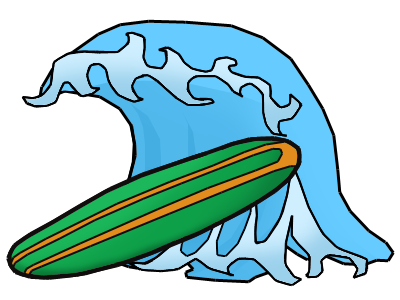 Image Result For Surfing Coloring Pages