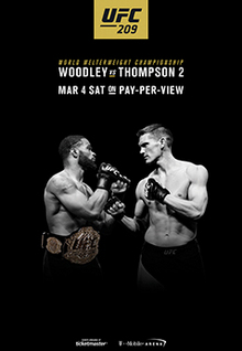 UFC 209 : Woodley vs Thompson 2