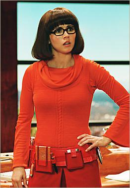 Velma, as portrayed by Linda Cardellini in Sco...