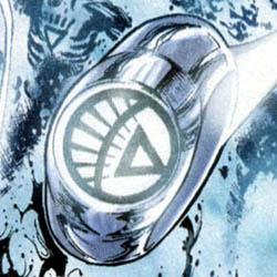 White lantern corps ring