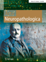 2009 cover of the journal Acta Neuropathologica.jpg
