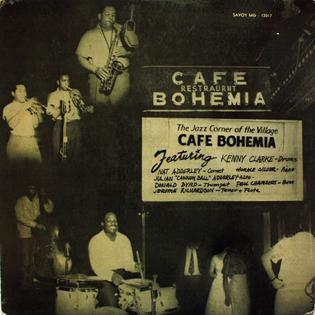 <i>Bohemia After Dark</i> 1955 studio album by Kenny Clarke