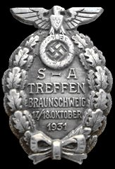 Brunswick Rally Badge