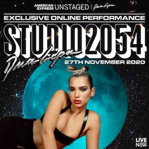 Studio 2054 2020 concert by Dua Lipa
