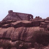 Gunrock Water Tank in Tirumalagiri
