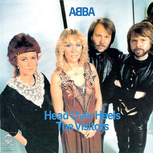 Head over Heels (ABBA song) 1981 song recorded by Swedish pop group ABBA