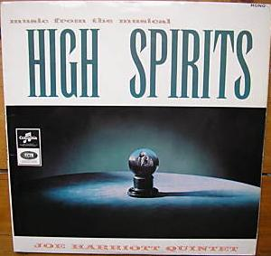 <i>High Spirits</i> (album) 1963 studio album by Joe Harriott