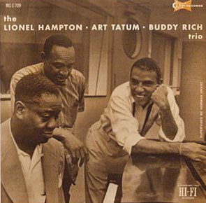 <i>The Lionel Hampton Art Tatum Buddy Rich Trio</i> album by Art Tatum
