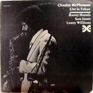<i>Live in Tokyo</i> (Charles McPherson album) 1976 live album by Charles McPherson
