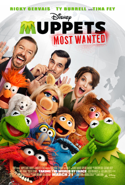 Muppets Most Wanted (Walt Disney Pictures - 2014)