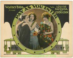<i>Pay as You Enter</i> 1928 film