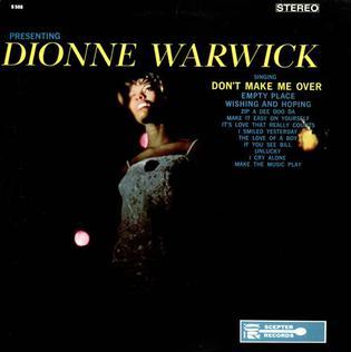 album by Dionne Warwick