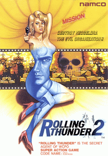 <i>Rolling Thunder 2</i> 1990 video game