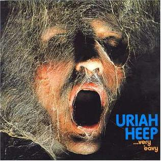 <i>...Very Eavy ...Very Umble</i> 1970 studio album by Uriah Heep