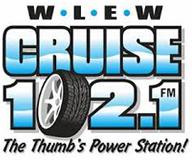 WLEW 102.1 FM Logo