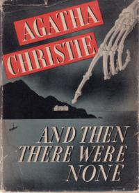 <i>And Then There Were None</i> 1939 mystery novel by Agatha Christie