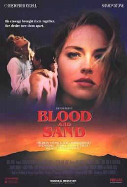 Sharon Stone Woman Of The Year Bloodandsandposter