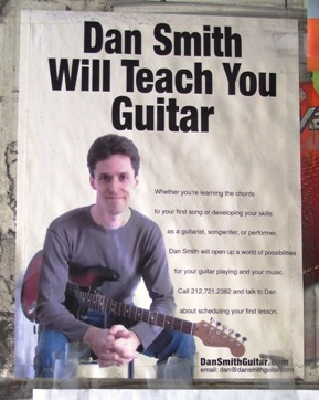 Dan Smith will teach you guitar