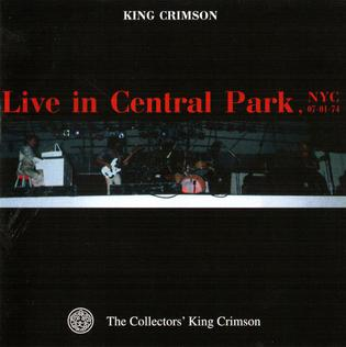 <i>Live in Central Park, NYC</i> 2000 live album by King Crimson