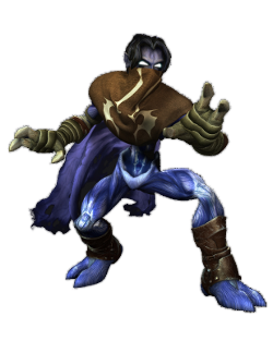 Raziel in Legacy of Kain: Defiance.