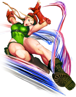 Cammy White do ストリートファイター Sutorīto Faitā (Street Fighter)