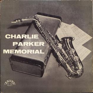 <i>Charlie Parker Memorial, Vol. 2</i> 1956 studio album by Charlie Parker