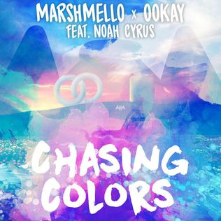 Chasing Colors single by Marshmello and Ookay featuring Noah Cyrus