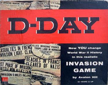 d day board game avalon hill