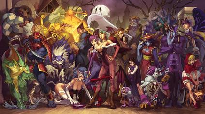 ABC de Pothook - Página 2 Darkstalkers_characters