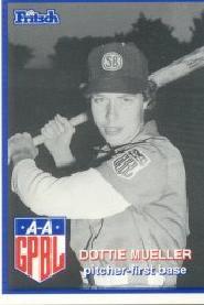 Dorothy Mueller American baseball player