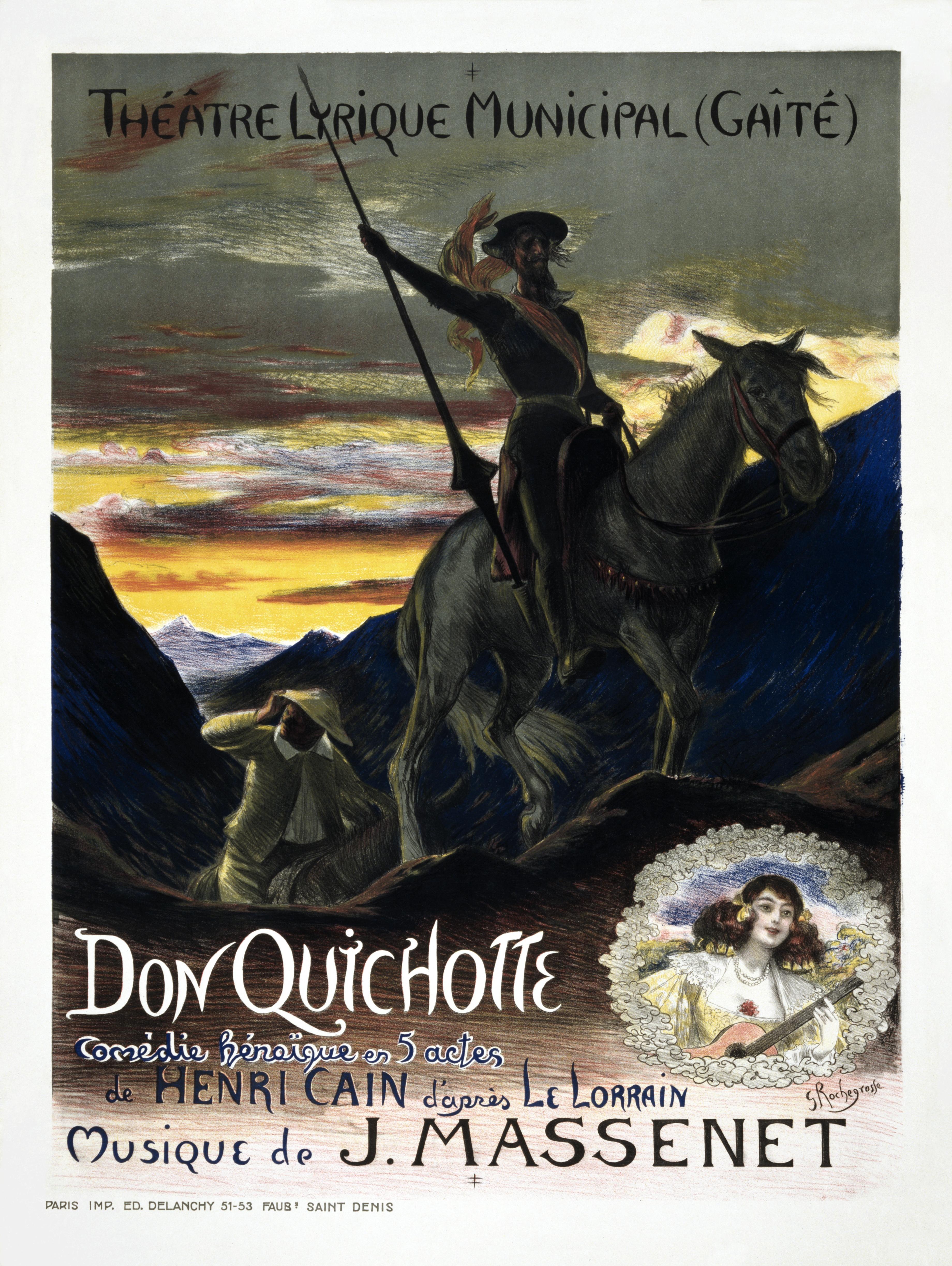 character traits of don quixote