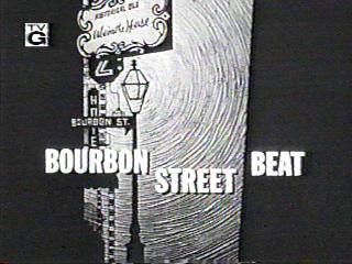 <i>Bourbon Street Beat</i> American television series