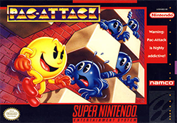 <i>Pac-Attack</i> 1993 puzzle video game