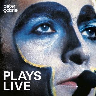 <i>Plays Live</i> 1983 live album by Peter Gabriel