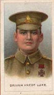 Frederick Luke Recipient of the Victoria Cross