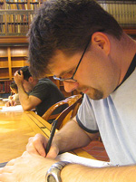 Will ludwigsen writing at new york public library.jpg