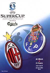 2003 UEFA Super Cup - Wikipedia