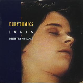 Julia (Eurythmics song) song performed by British pop duo Eurythmics
