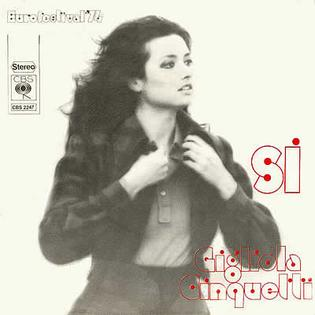 Sì (song) 1974 song by Gigliola Cinquetti