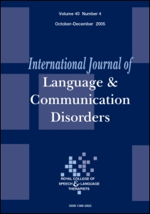impact of speech language and communication difficulties in a relationship