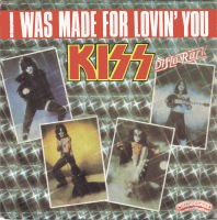 Kiss — I Was Made for Lovin' You (studio acapella)