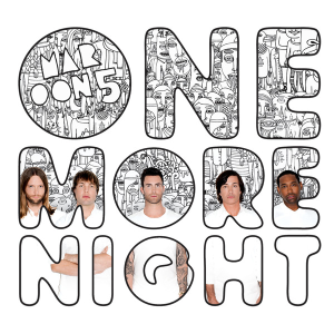 Maroon 5 — One More Night (studio acapella)