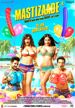 Download Mastizaade 2016 Hindi 480p | 720p HDRip