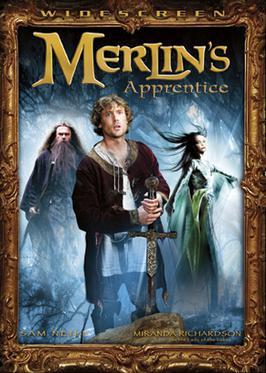 Arthur and Co. sur le petit écran Merlin's_Apprentice_cover
