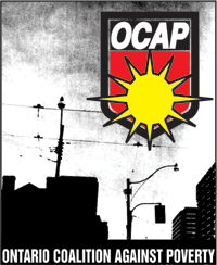 Ontario Coalition Against Poverty Canadian homeless activist group