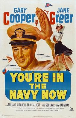 Poster_-_You're_in_the_Navy_Now_(1951)_0